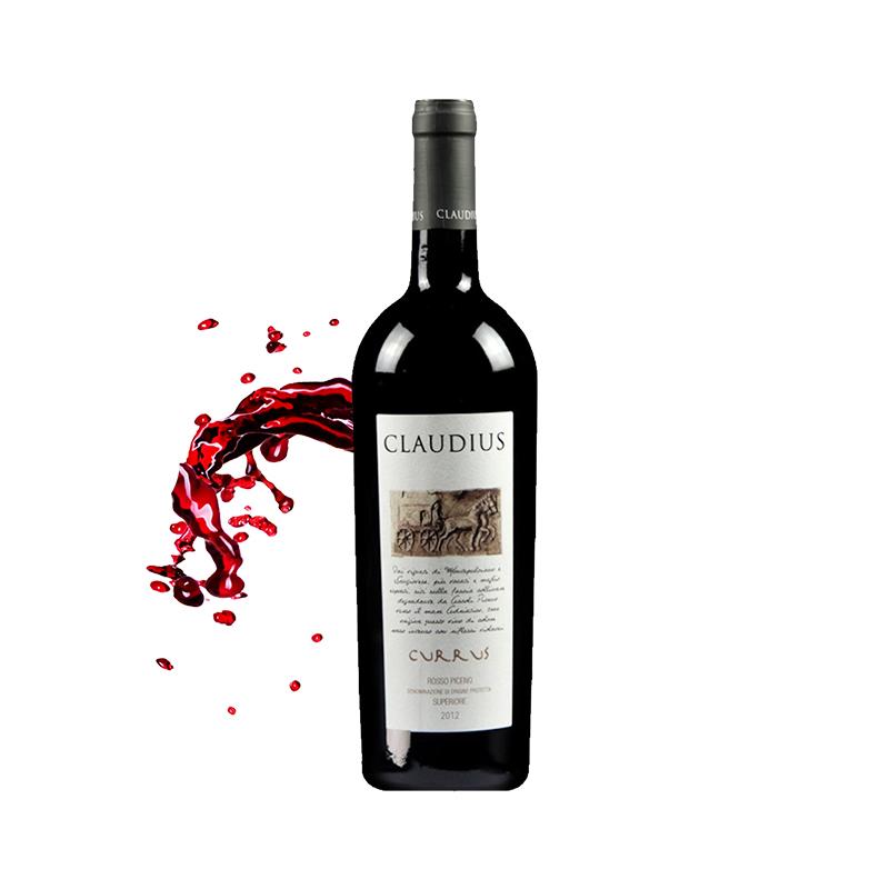 克劳蒂斯小山谷干红葡萄酒一瓶