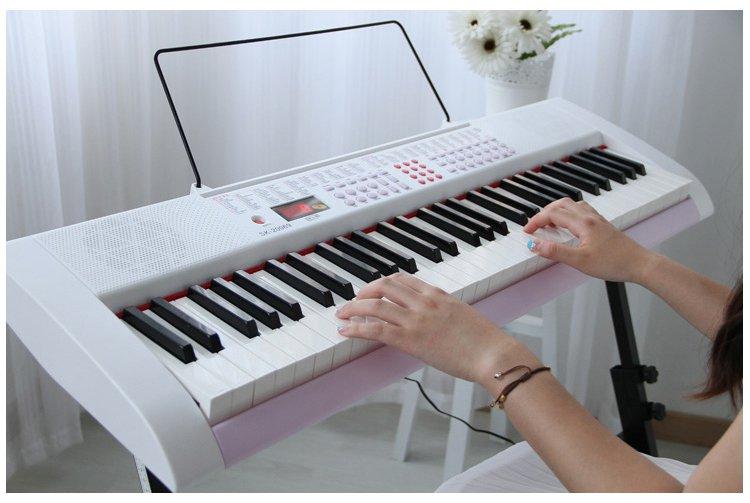 电子琴右手弹奏的基本要领