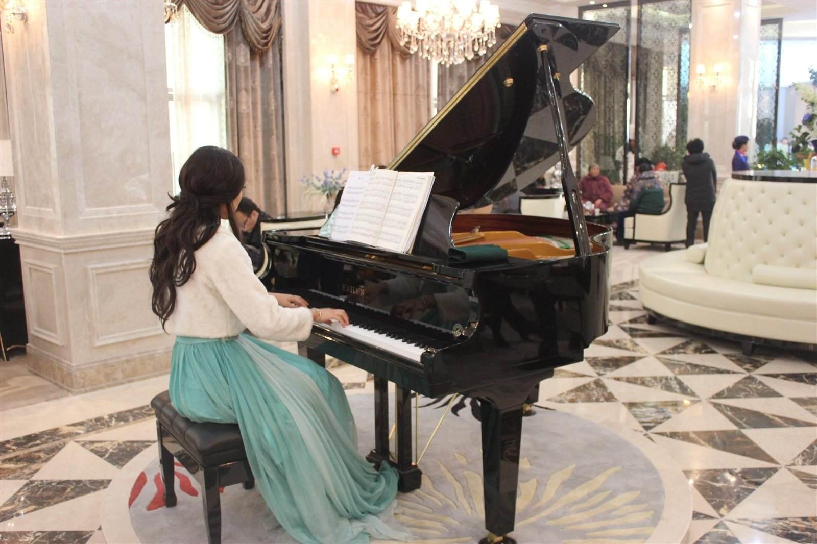 钢琴(电子琴)考级中的琶音应该怎么弹?
