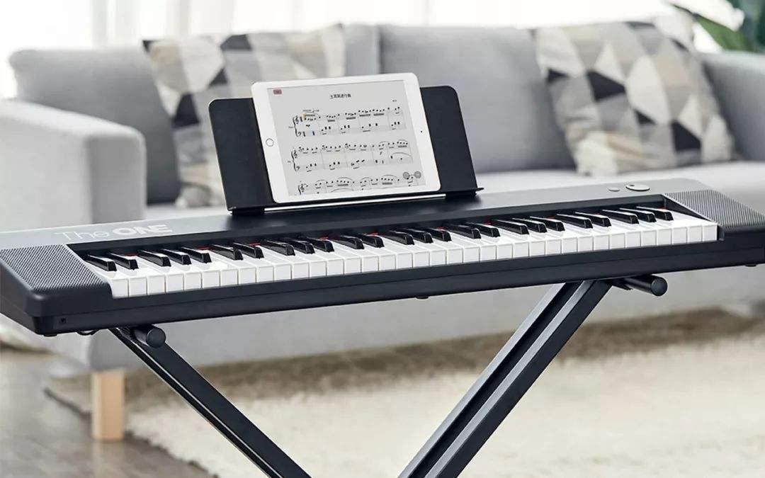 电子琴的3种记谱方法
