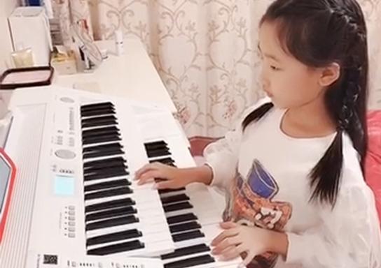 刘奕彤《公主在歌唱》