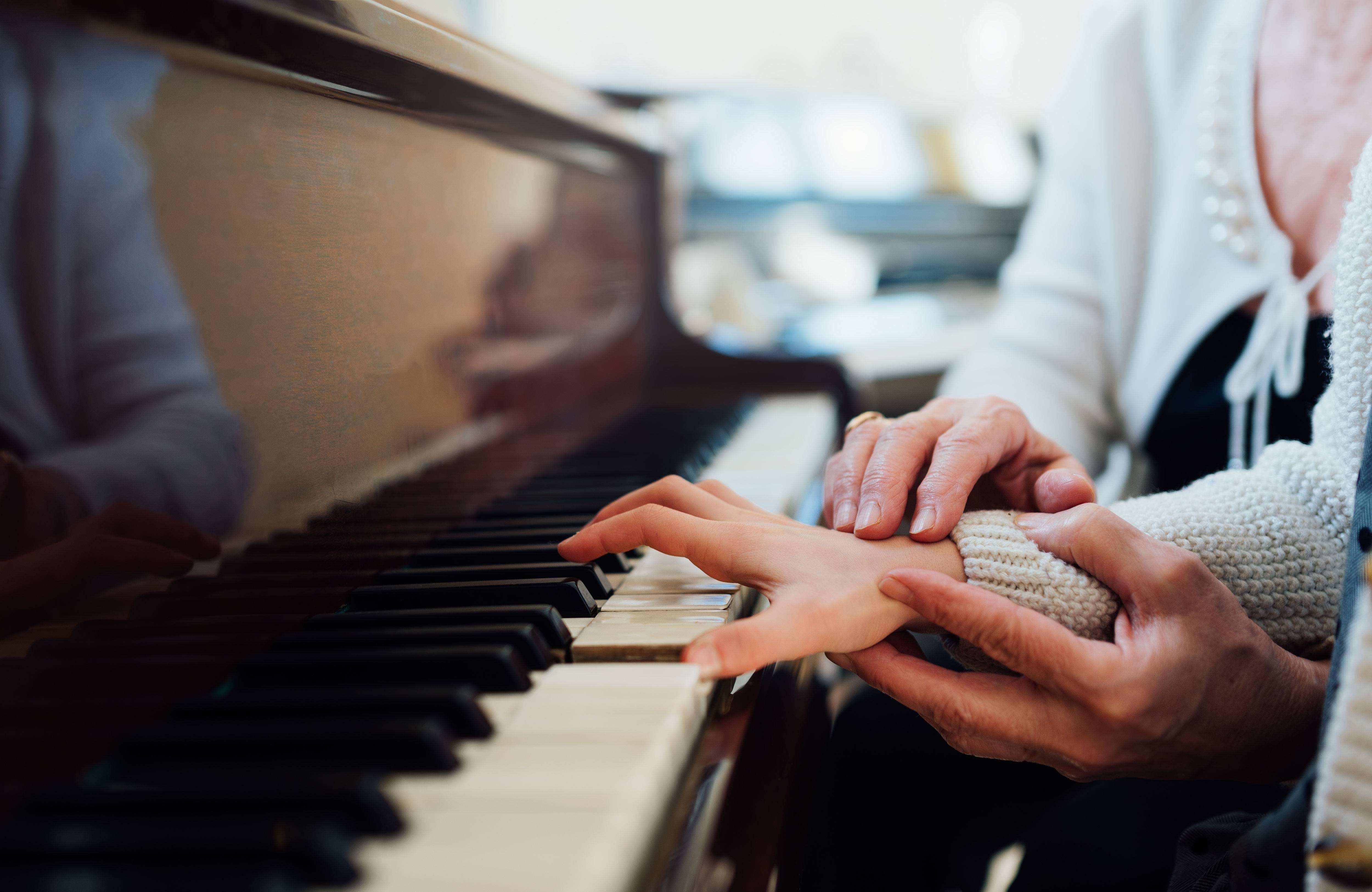弹钢琴时应该怎样灵活运用手腕