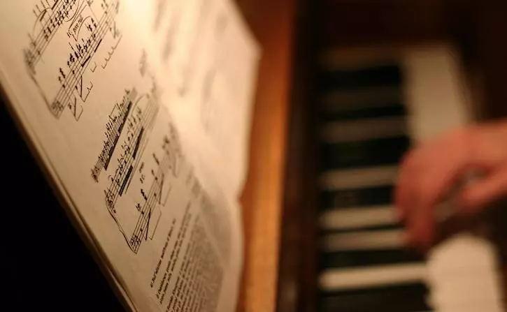 学琴为什么大多都用五线谱?
