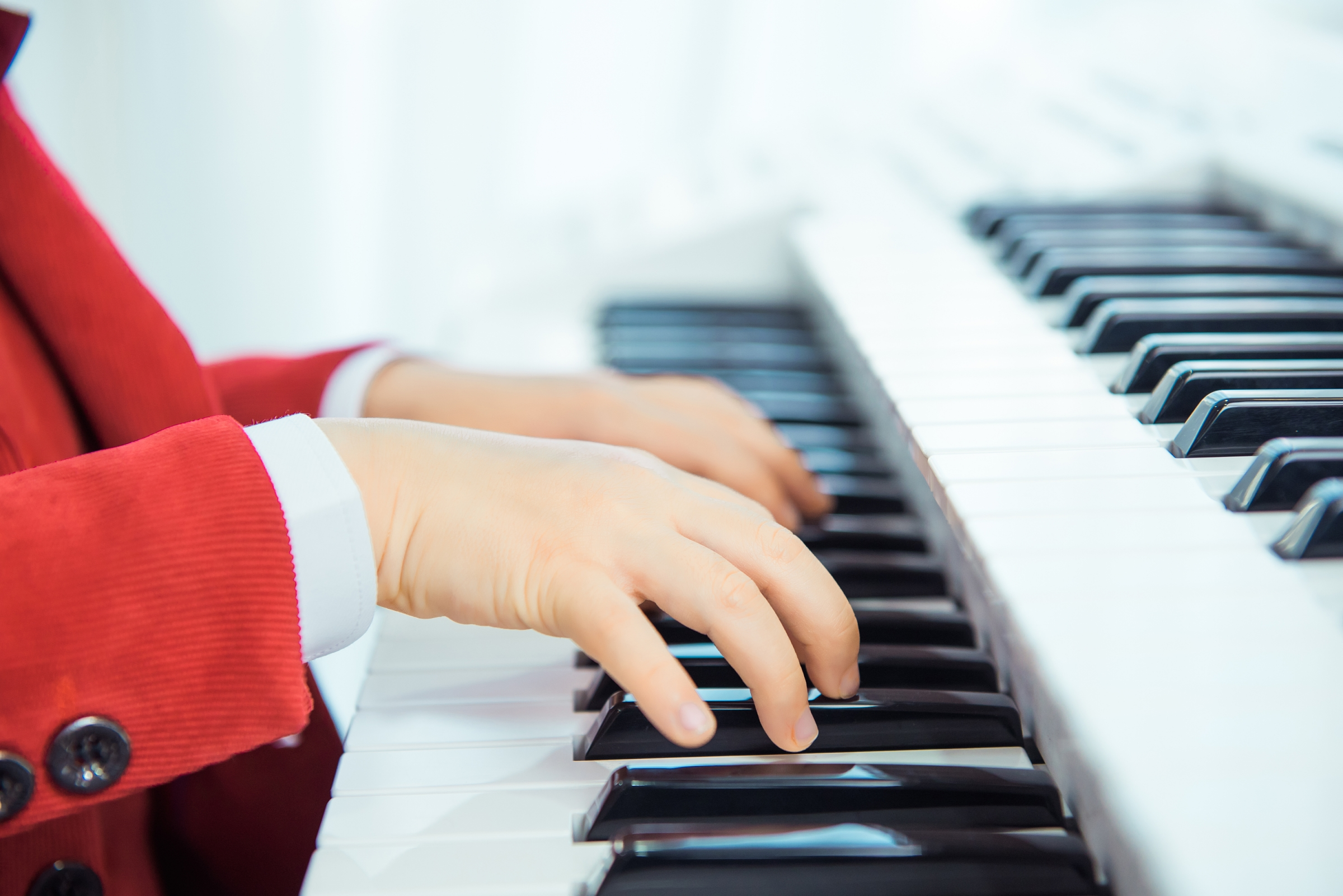 键盘类乐器通用指法练习方法